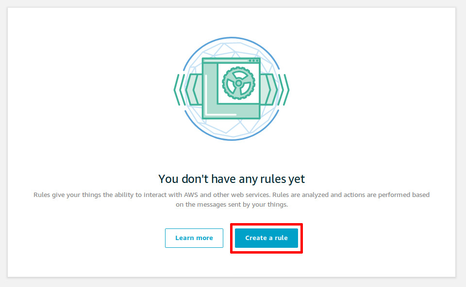 Create a rule (new user)